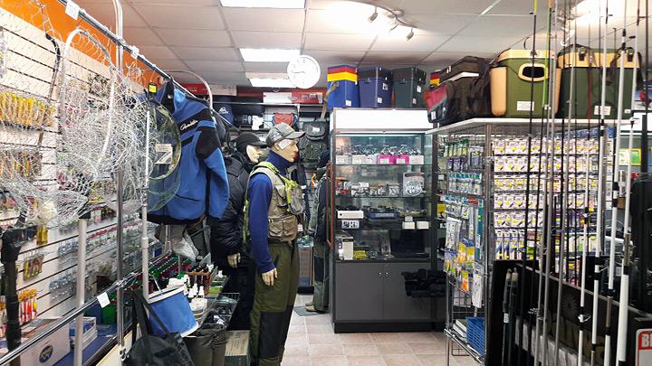работа в рыболовный магазин красноярск